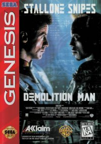 Обложка Demolition Man
