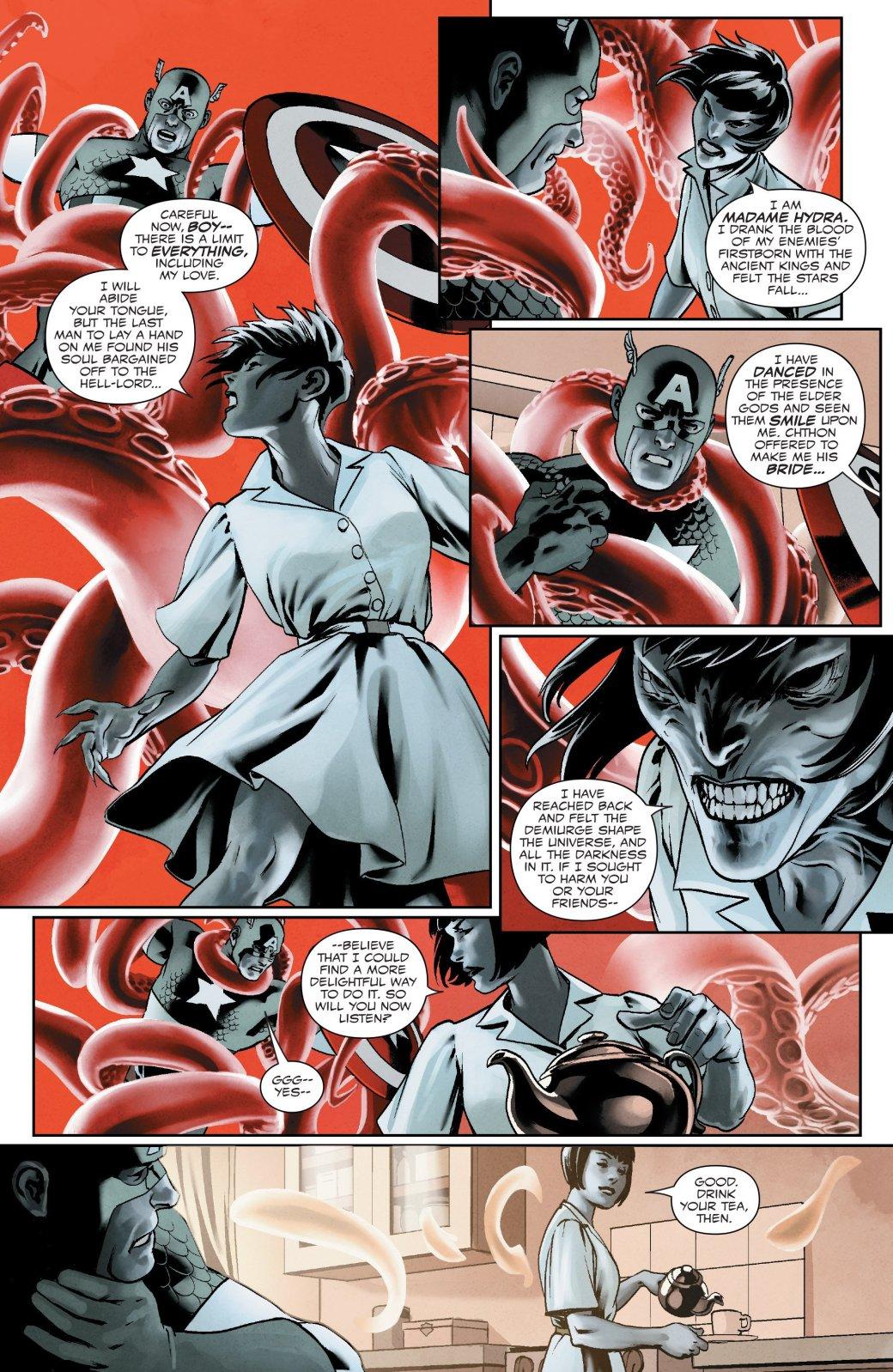 В новом номере «Капитана Америка» представили обновленный Совет Гидры - Изображение 8