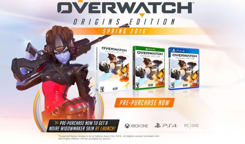 Overwatch выйдет весной следующего года, Origins Edition стоит $40 - Изображение 1