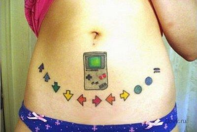 Татуировки фанатов видеоигр. - Изображение 27