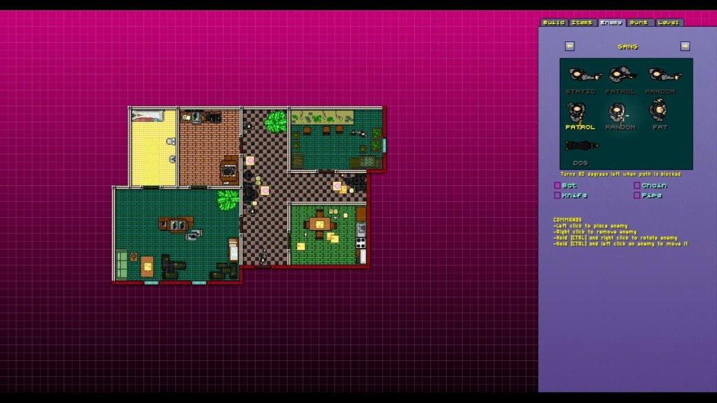 Вышла бета-версия редактора уровней для Hotline Miami 2 - Изображение 1