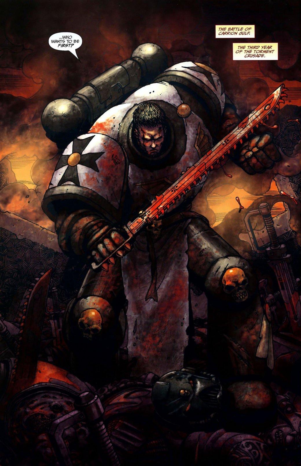 Самые крутые комиксы по Warhammer 40.000. - Изображение 16