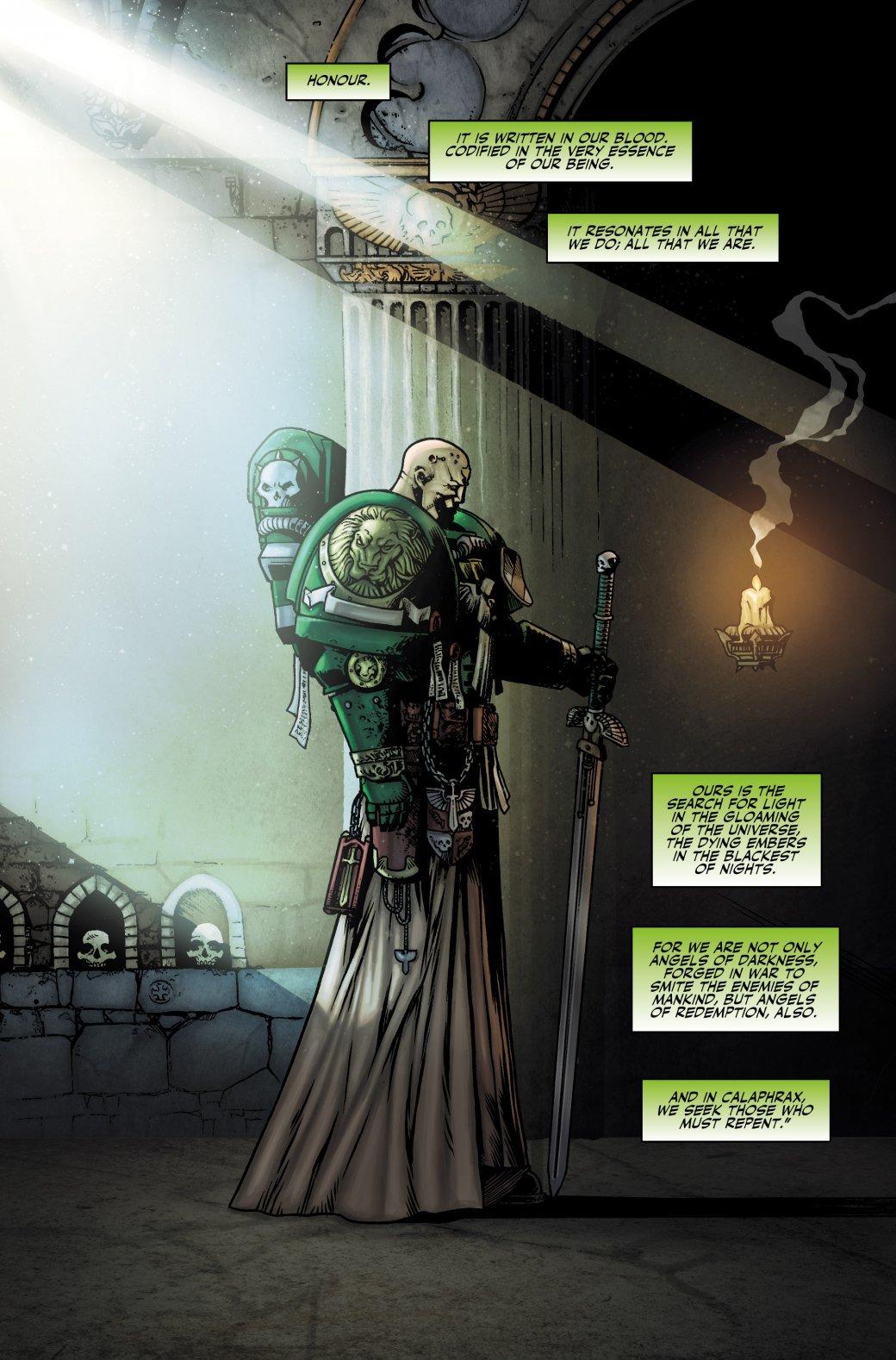 Самые крутые комиксы по Warhammer 40.000. - Изображение 20