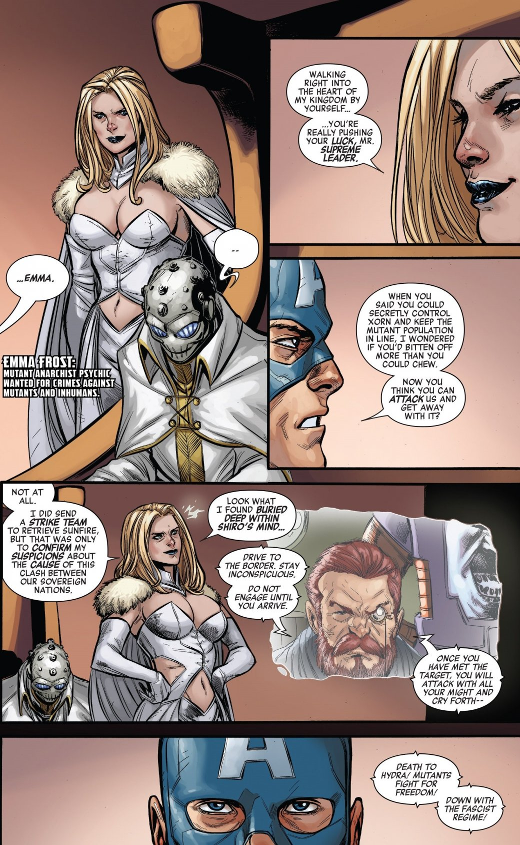 Secret Empire: противостоянию Стива Роджерса иТони Старка нет конца - Изображение 9