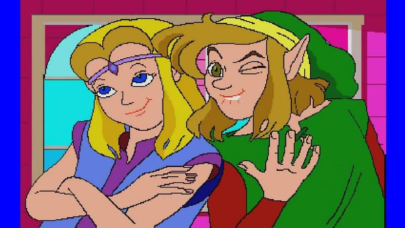 Чудовищные части Zelda c CD-I переделали в чудовищном 3D - Изображение 1