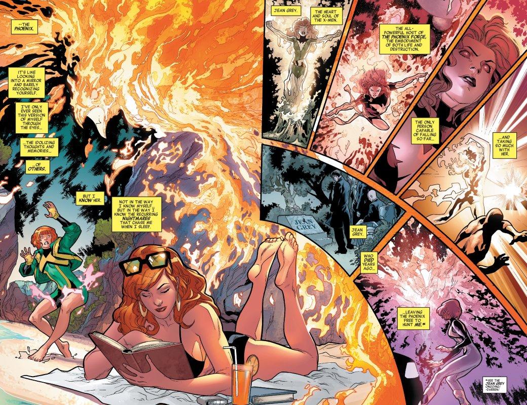 Marvel Generations: Чем закончилась встреча двух Джин Грей?. - Изображение 1
