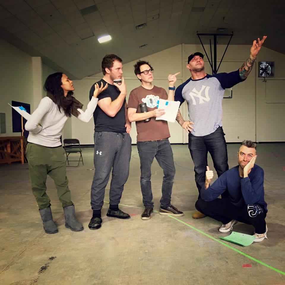 Фото с репетиций «Стражей Галактики 2»: кто там самый лучший актер? - Изображение 1