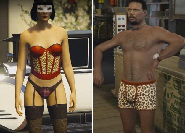 Rockstar оденет игроков GTA Online в леопардовое нижнее белье - Изображение 1