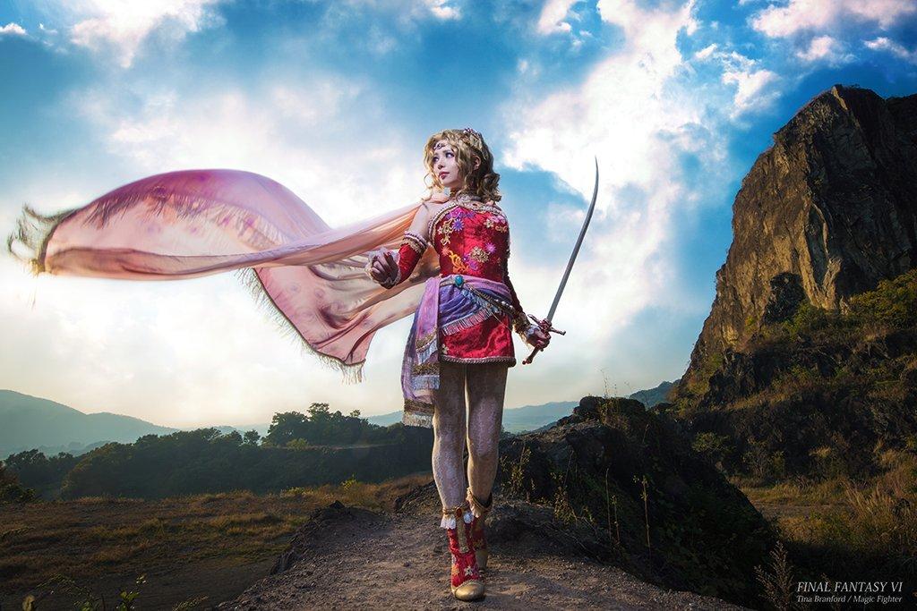 Качественный японский косплей героини Final Fantasy VI - Изображение 1