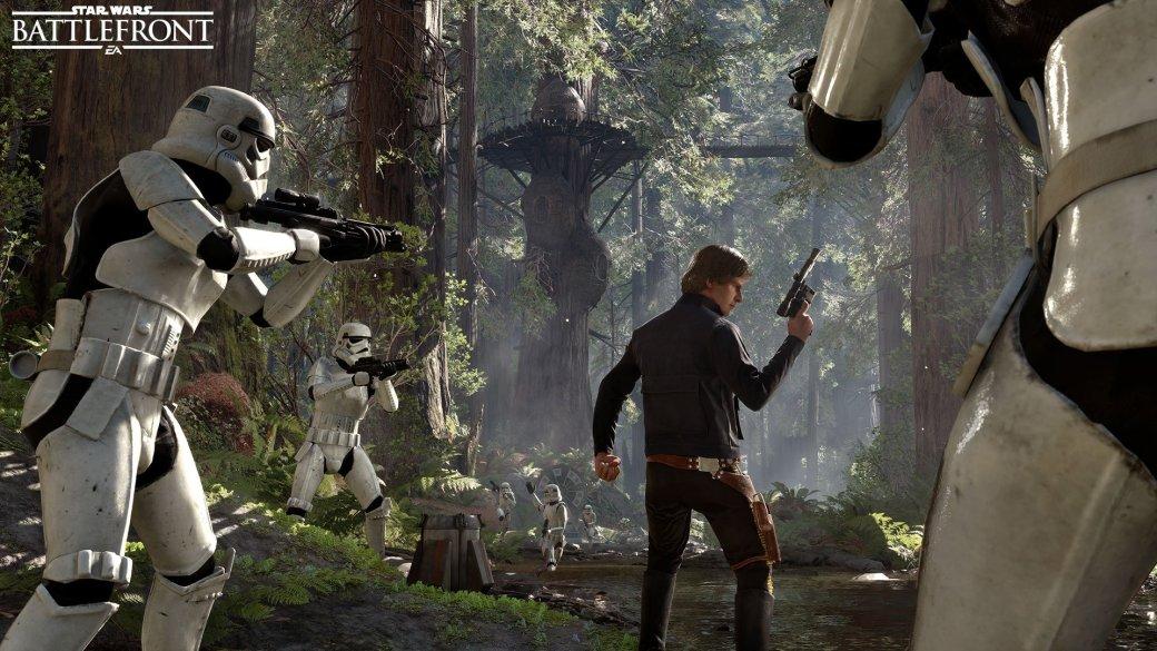 Star Wars Battlefront: DICE представила Лею, Хана Соло и Палпатина - Изображение 1