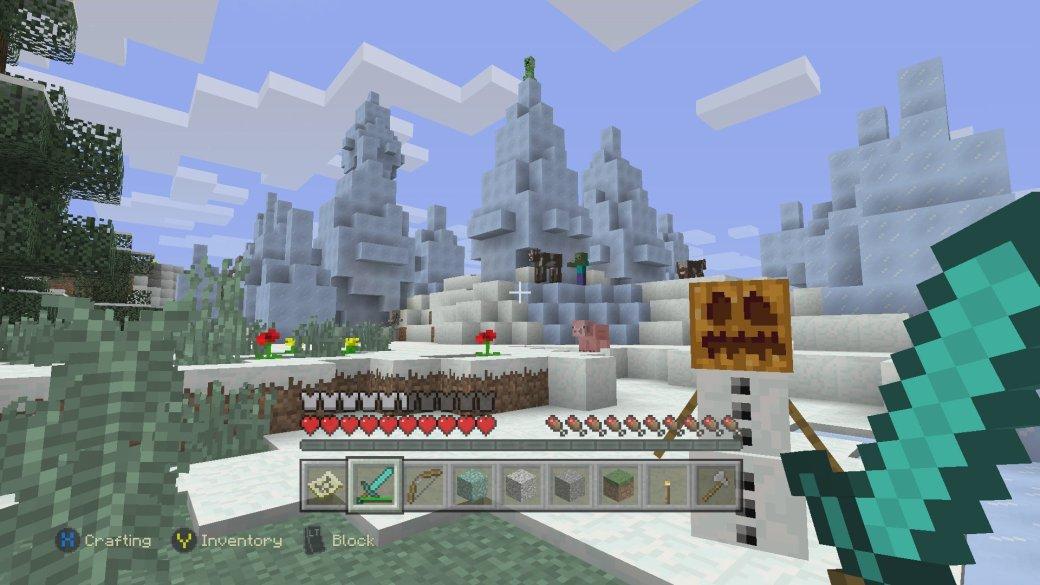 Консольный Minecraft максимально приблизился к PC-версии - Изображение 1