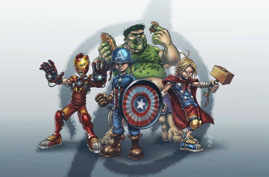 Галерея вариаций: Мстители-женщины, Мстители-дети... - Изображение 187
