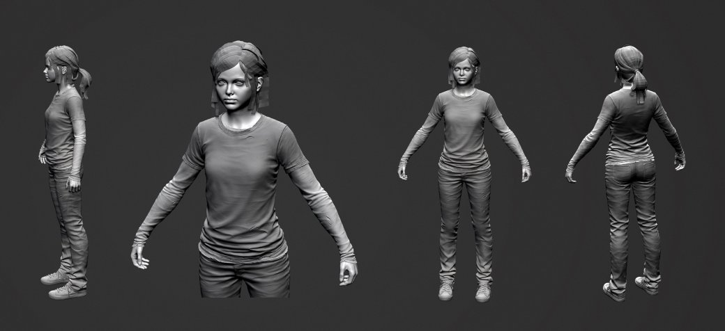 Разработчик The Last of Us выложил свои наработки в сеть - Изображение 9
