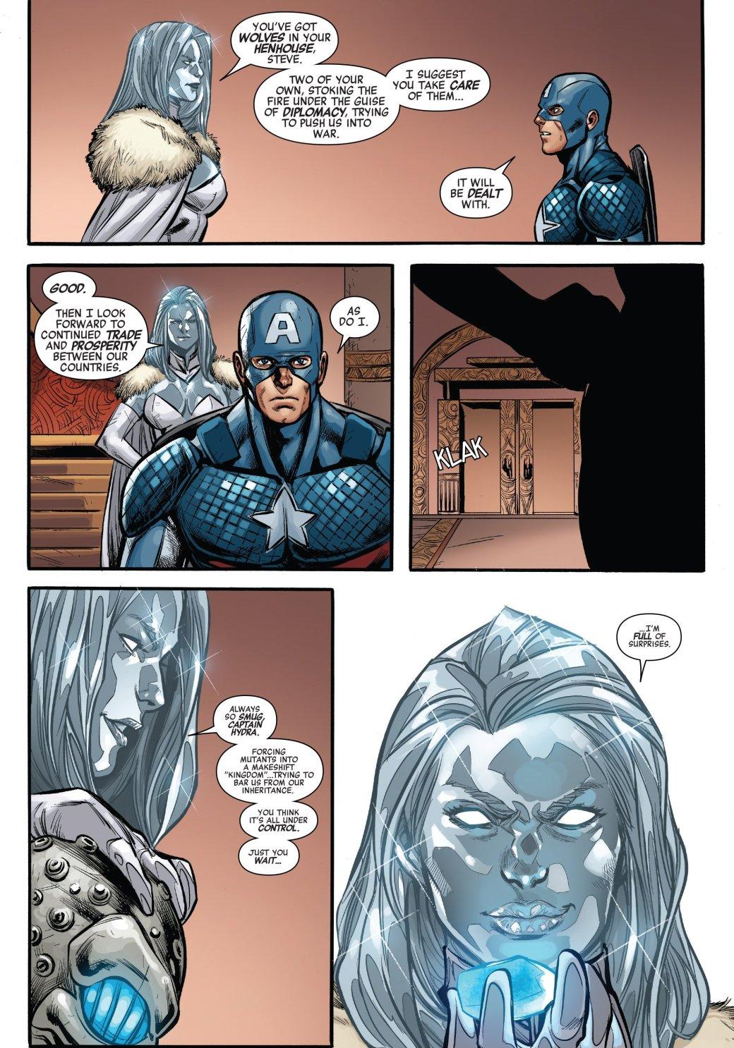 Secret Empire: противостоянию Стива Роджерса иТони Старка нет конца - Изображение 10
