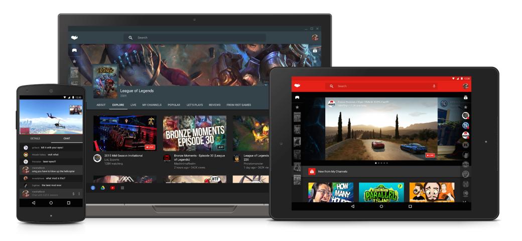 Приложение YouTube Гейминг официально запущено в России - Изображение 1