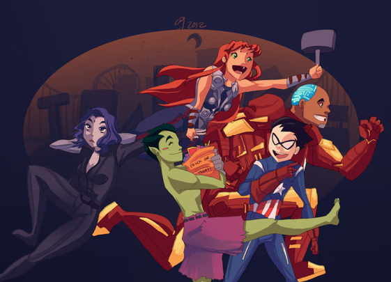 Галерея вариаций: Мстители-женщины, Мстители-дети... - Изображение 3