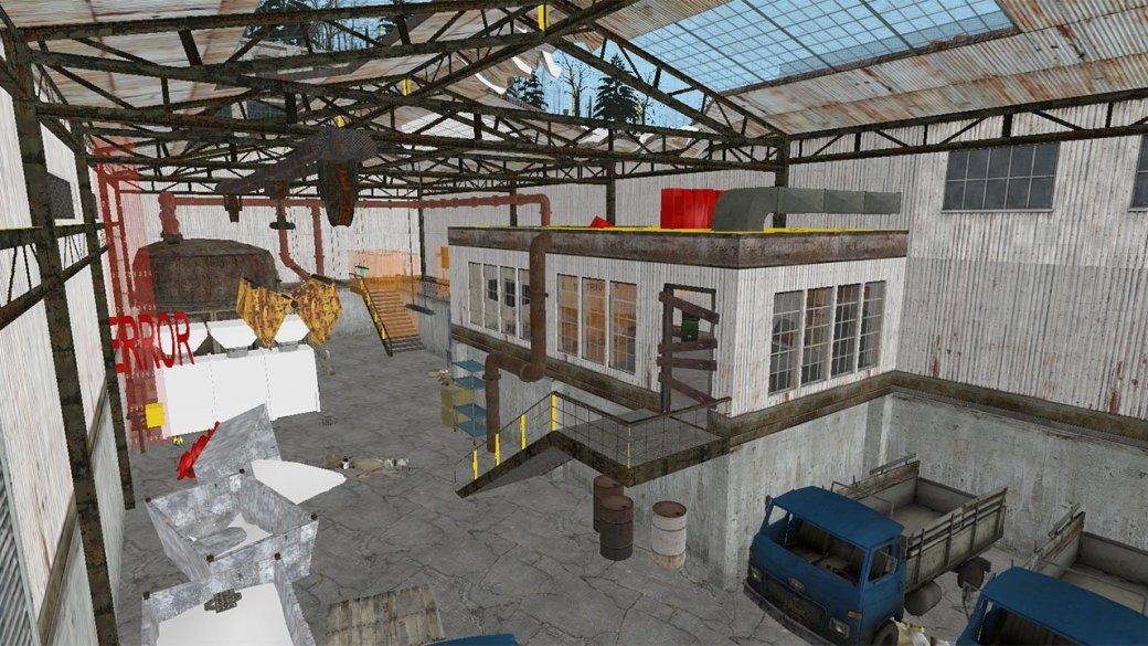 Заснеженный Рейвенхольм в материалах отмененного эпизода Half-Life 2 - Изображение 3