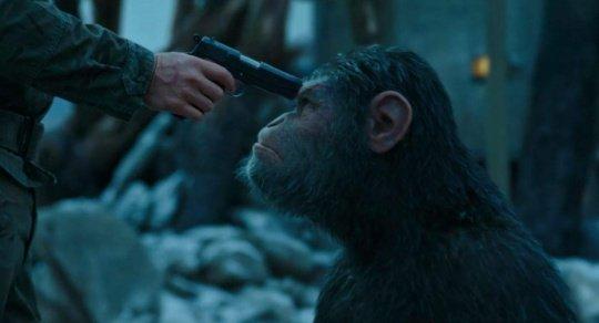 Билеты нафантастику «Планета обезьян: Война» можно приобрести  наЗабмедиа