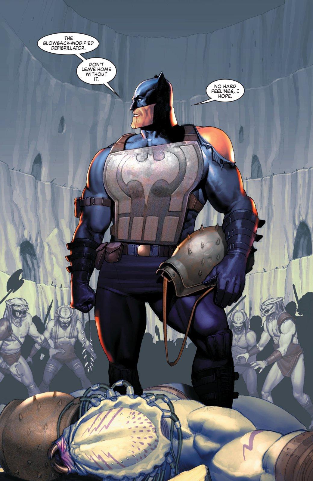 Бэтмен против Чужого?! Безумные комикс-кроссоверы сксеноморфами. - Изображение 31