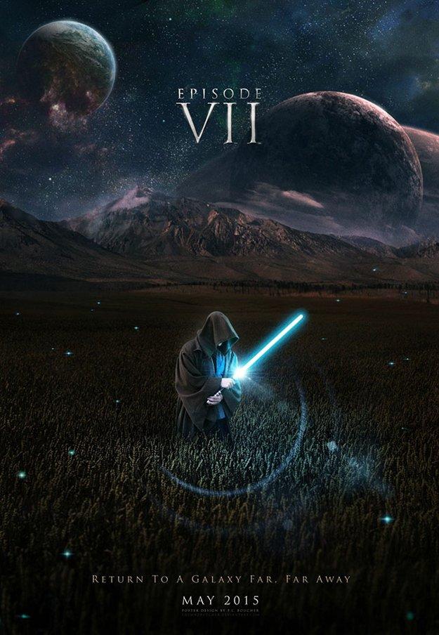 Фанатские постеры Star Wars: Episode VII - Изображение 11