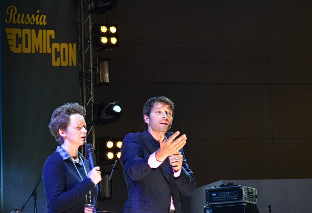 Фотоотчет с «Игромира» и Comic Con Russia, день 3 – Миша Коллинз - Изображение 34