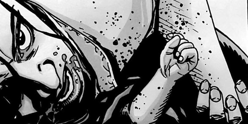12 самых жестоких сцен в комиксе «Ходячие мертвецы». - Изображение 12