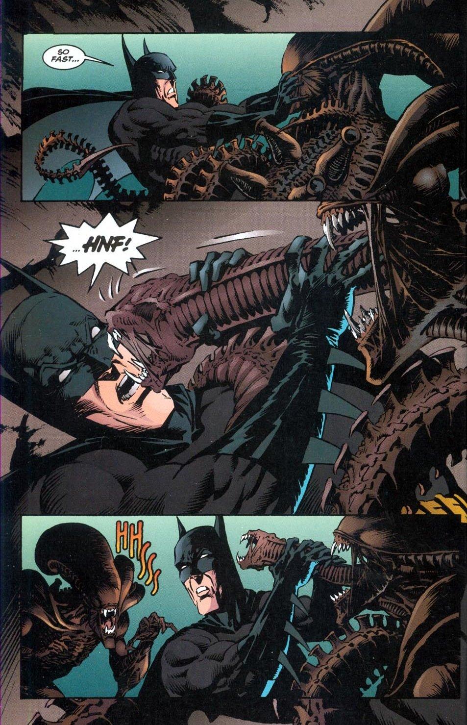 Бэтмен против Чужого?! Безумные комикс-кроссоверы сксеноморфами. - Изображение 19