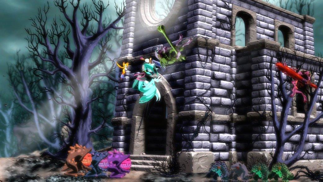 Нарисованная от руки Dust: An Elysian Tail прорубит путь на PS4 - Изображение 1
