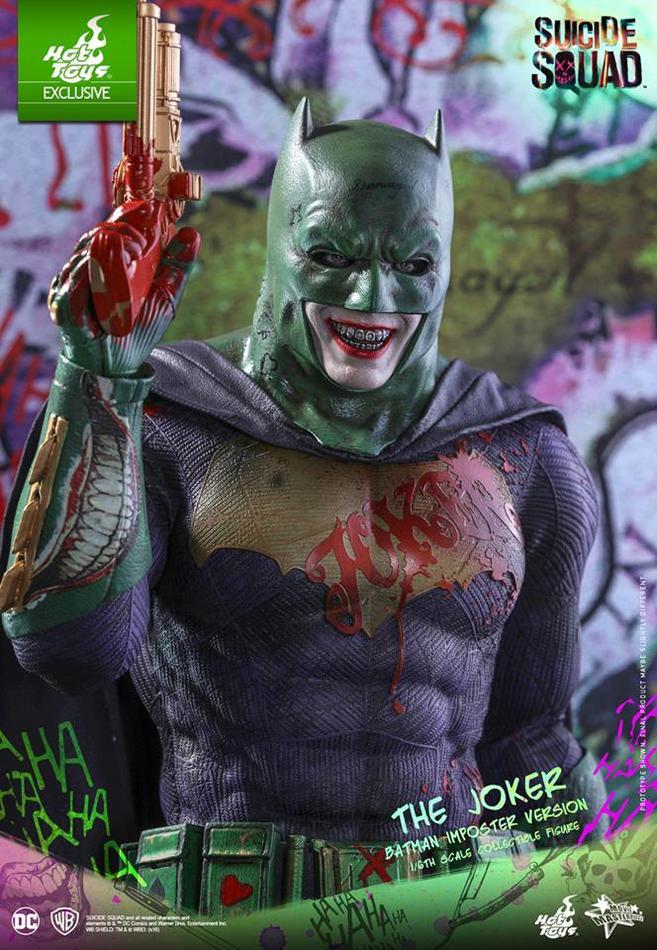 Hot Toys показала потрясающую фигурку Бэт-Джокера - Изображение 3
