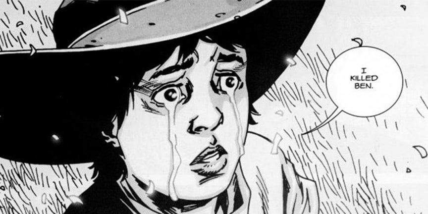 12 самых жестоких сцен в комиксе «Ходячие мертвецы». - Изображение 14