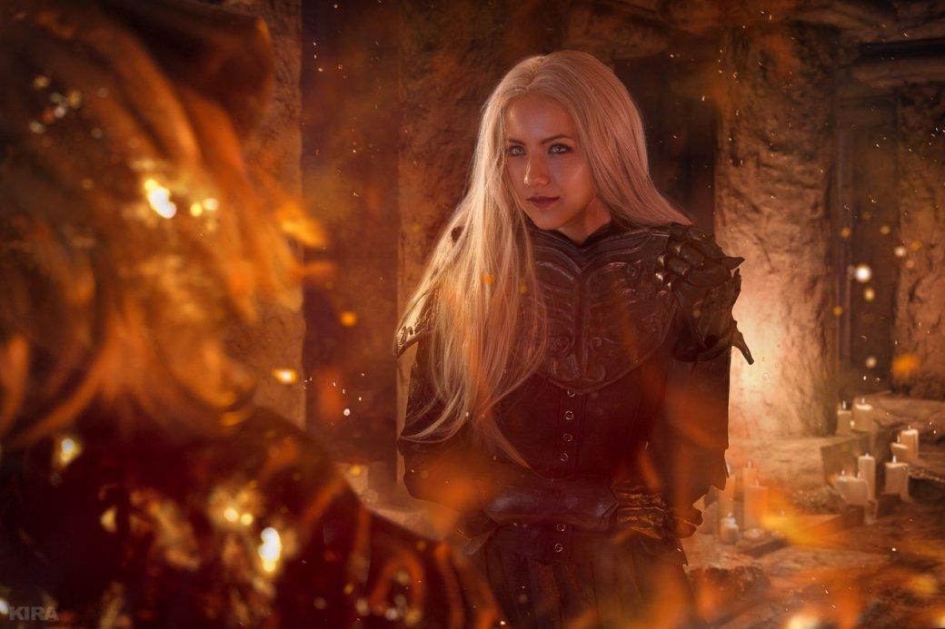 Косплей дня: Негорящий и Юрия из Лондора в Dark Souls 3. - Изображение 9