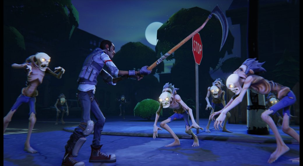Первой игрой на Unreal Engine 4 станет мультяшный зомби-шутер. - Изображение 1