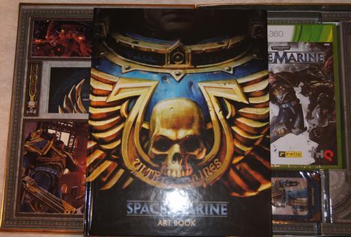 Анбоксинг европейского коллекционного издания Space Marine - Изображение 8