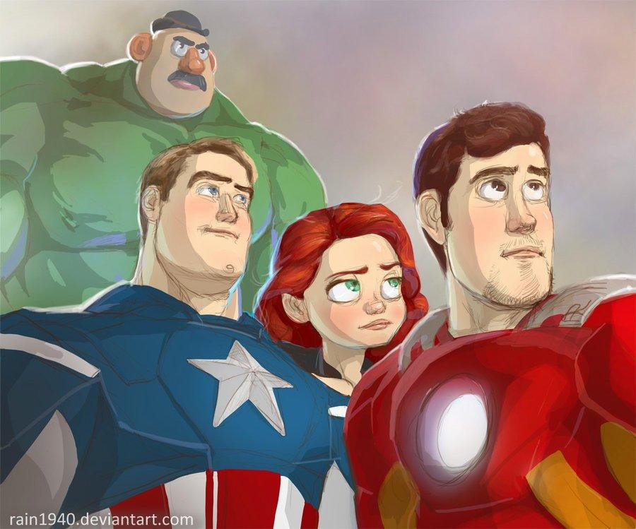 Галерея вариаций: Мстители-женщины, Мстители-дети... - Изображение 39