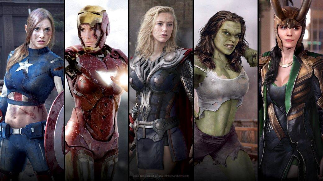 Галерея вариаций: Мстители-женщины, Мстители-дети... - Изображение 11