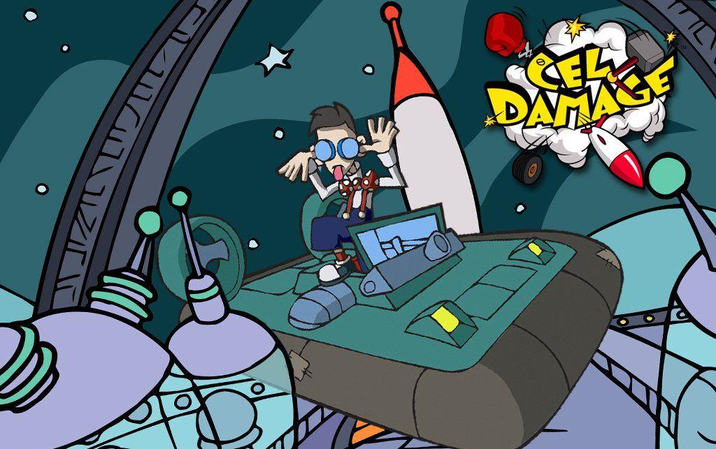 Мультяшные гонки на выживание Cel Damage переедут на PlayStation  - Изображение 1