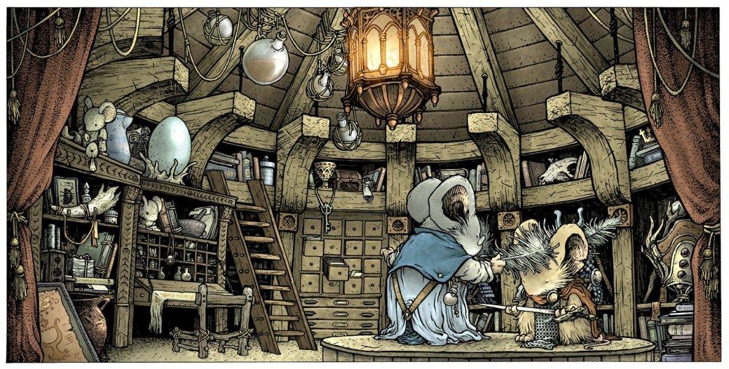 Готовится экранизация комикса Mouse Guard —«Игры престолов» с мышами - Изображение 2