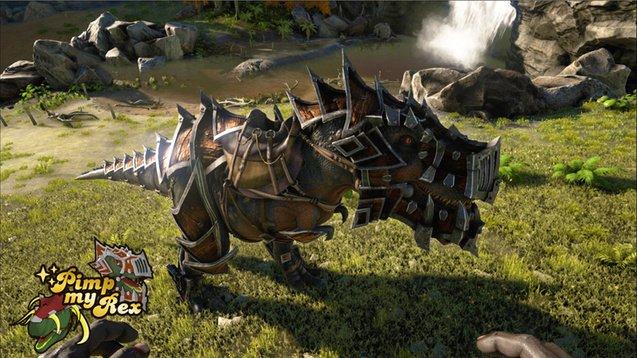 Прокаченный тирекс в Ark: Survival Evolved выглядит круто - Изображение 1