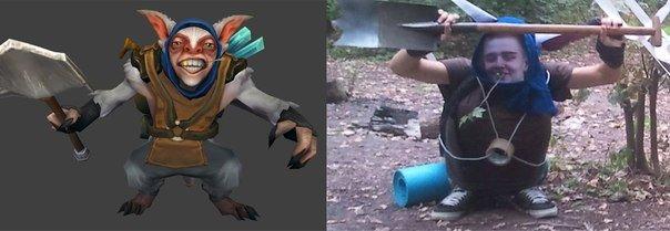 Самые смешные фанатские костюмы по игре DotA 2 - Изображение 5