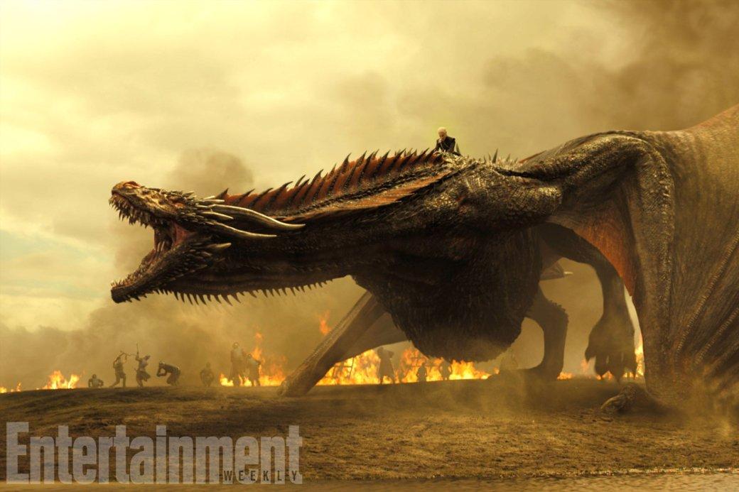 «Игра престолов» отжигает: сериал побил рекорд погорящим каскадерам