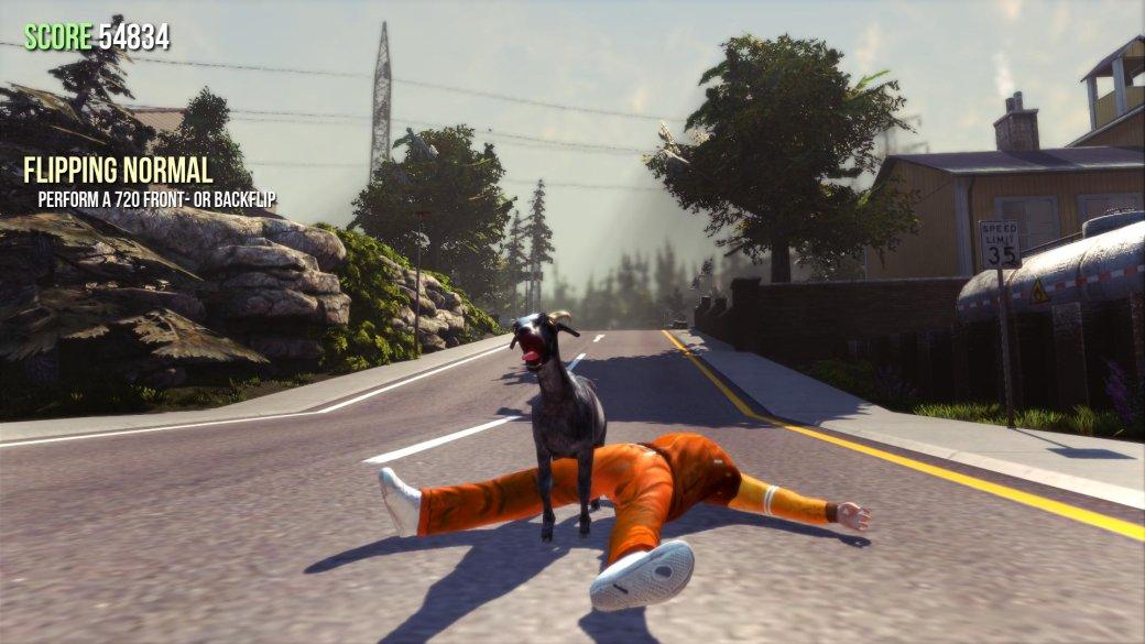 Goat Simulator доскачет до Xbox One и мобильных платформ - Изображение 1
