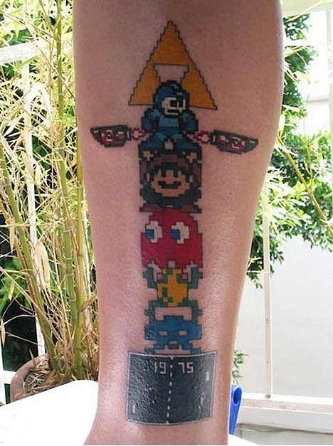 Татуировки фанатов видеоигр. - Изображение 3