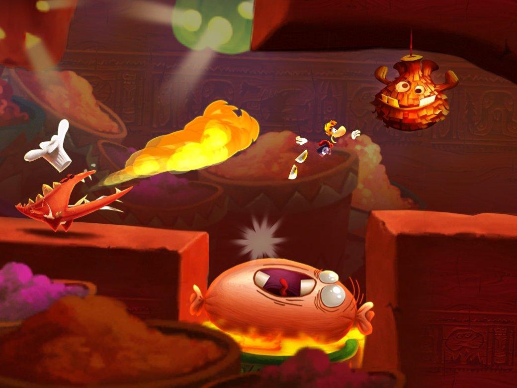 Rayman Fiesta Run ворвалась в российские чарты App Store - Изображение 1