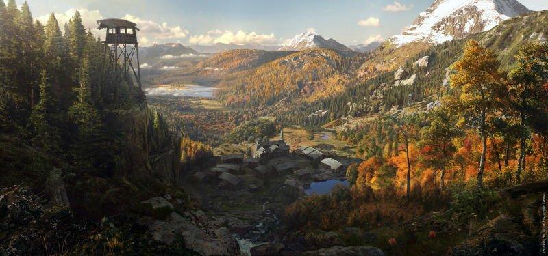 Прекрасные концепты Horizon: Zero Dawn отхудожников «Игры престолов» - Изображение 6