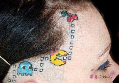 Татуировки фанатов видеоигр. - Изображение 1