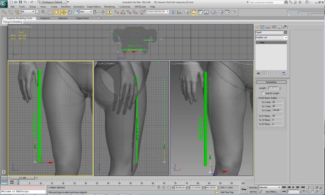 Как бы выглядела Барби, если бы ее сделали по реальным размерам - Изображение 2