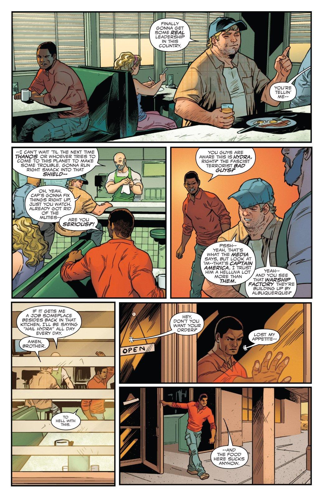 Secret Empire: Люди рады тому, что Гидра пришла к власти - Изображение 27