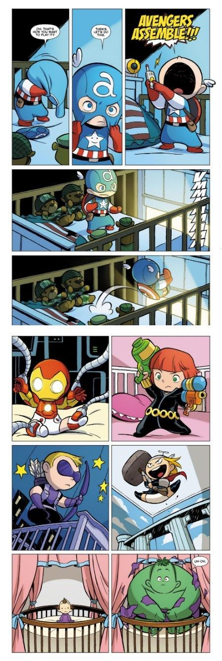 Галерея вариаций: Мстители-женщины, Мстители-дети... - Изображение 81