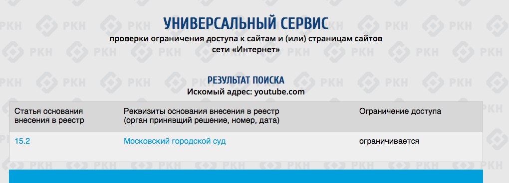 [Обновляется] Провайдеры в России начали блокировать доступ к YouTube - Изображение 1