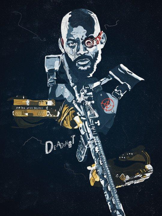 Арты «Отряда самоубийц», которые выглядят круче официальных постеров - Изображение 3